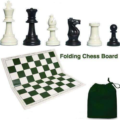Gambit Folding Tournament Chess Set