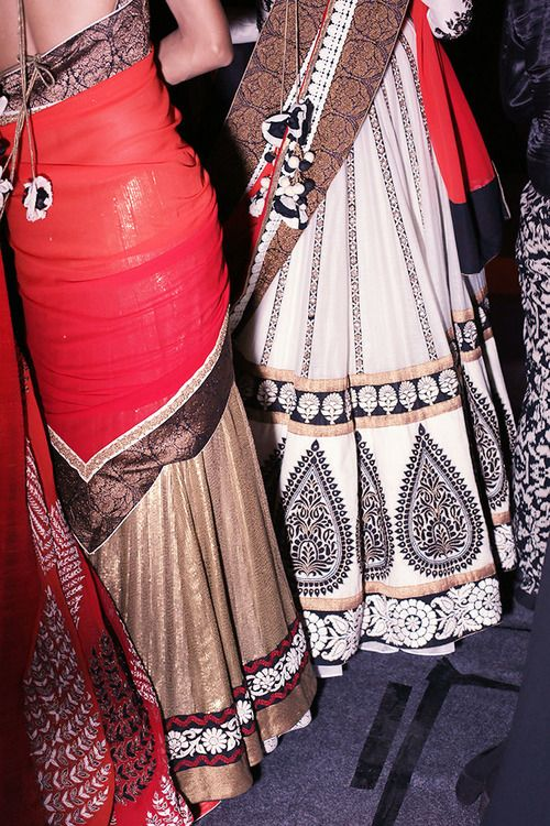 Backstage at Ekru by Ekta & Ruchira, M∙A∙C AW13 Wills Lifestyle India Fashion Week