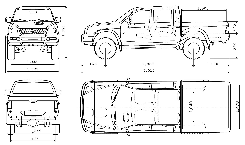 70 original Pickup Trucks Rental Nu79221   Blueprints ...