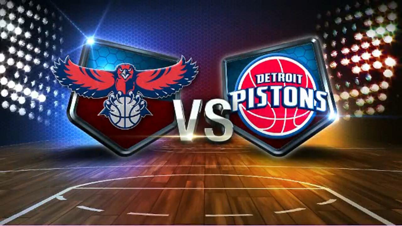 """Résultat de recherche d'images pour """"Atlanta Hawks vs Detroit Pistons"""""""