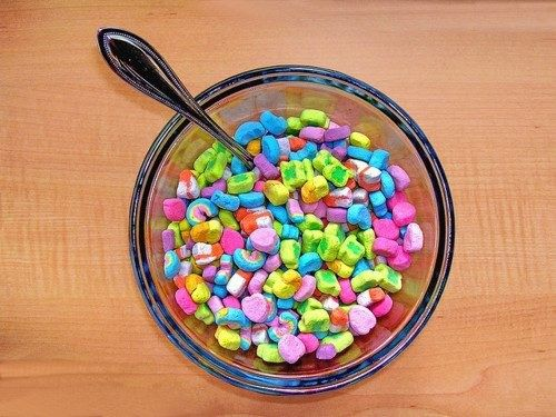 My favorite part of the Lucky Charms