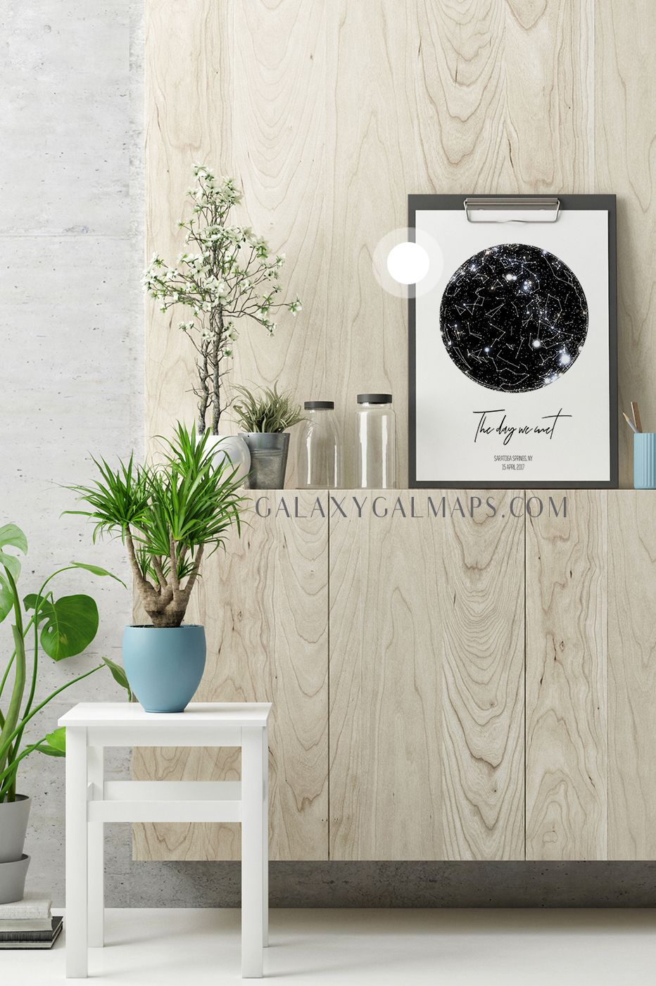PERSONAL Star Map by DATE and Location - Star Map Poster Wall Art ...