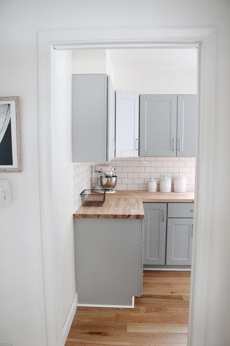 Kleine Küche gestalten vorher und nachher um #kitchenremodelsmall