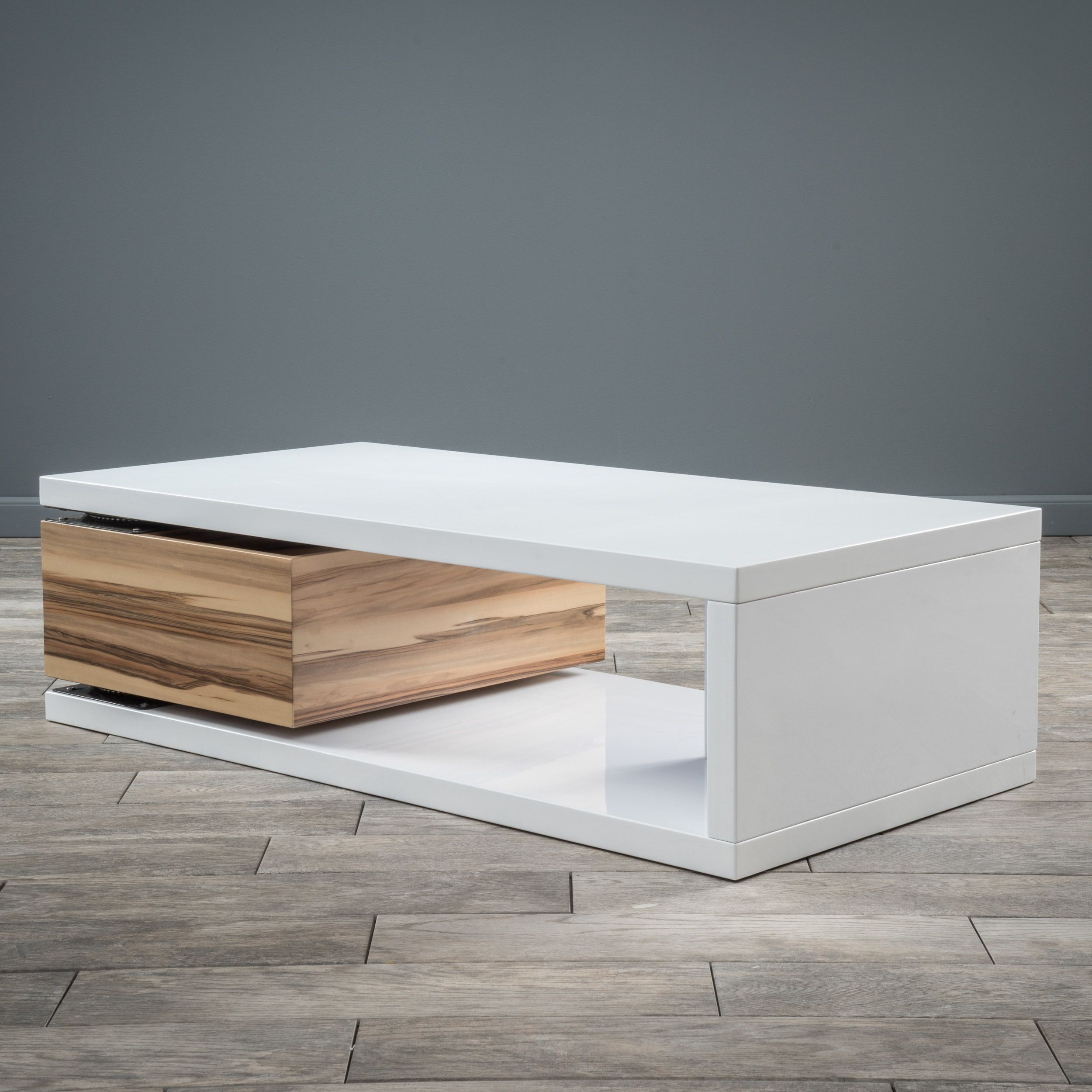 Rectangular mod rotatable coffee table by christopher knight home rectangular mod rotatable coffee table by christopher knight home by christopher knight home geotapseo Image collections