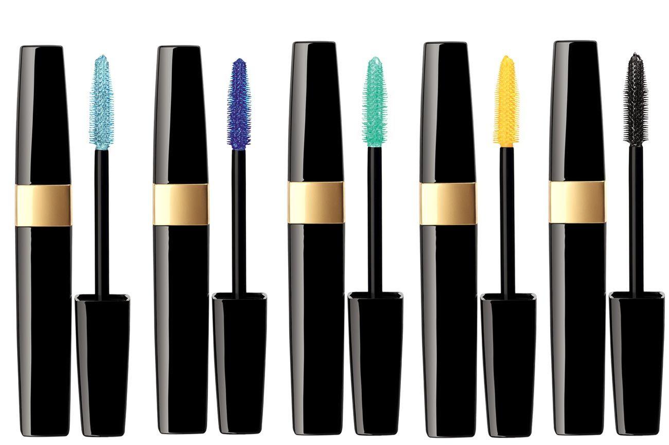 Chanel Inimitable Waterproof Mascara in Aqua Blue, Blue Note, Lime Light, Zest, and Noir