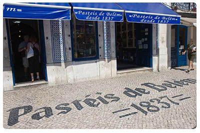 Antiga Confeitaria de Belem. Lisboa.