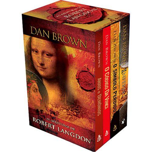 Livro Box As Aventuras De Robert Langdon Edicao Economica Em