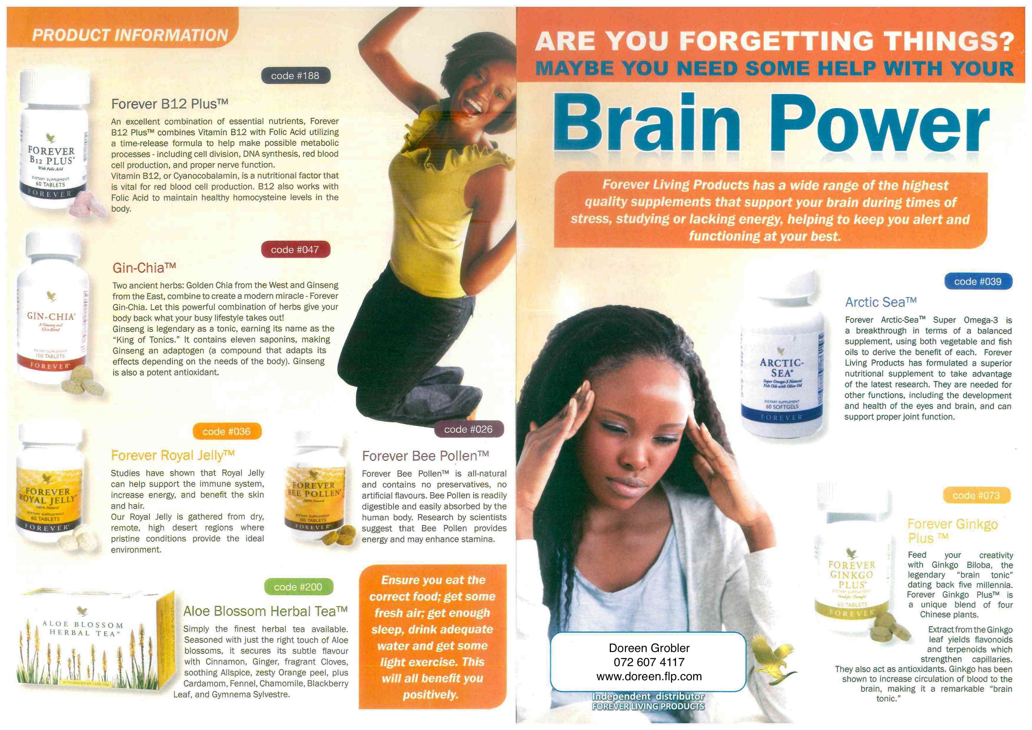 Ginkgo For Natural Brain Power Forgetting Things Lack Of Energy