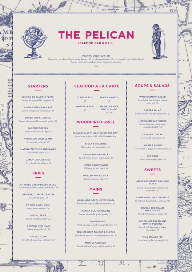 Essential Restaurant Menu Design Tips  Restaurant Menu Design
