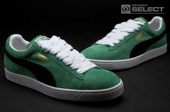 2c474be4947044 Puma Suede Classic Eco Mens Shoes - Amazon-Black