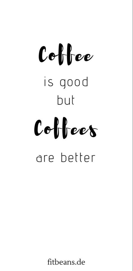 Jede Tasse Fit Beans Coffee gut Deinem Körper gut �️
