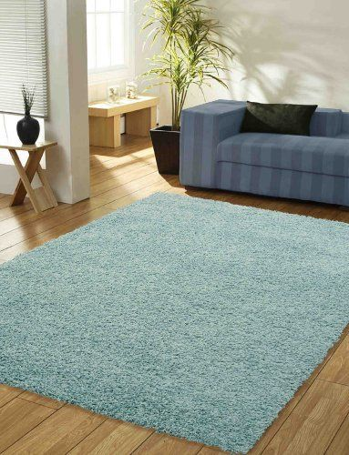 Large Duck Egg Blue Thick Pile X Top Quality Gy Rug 150 210 Rugs Http