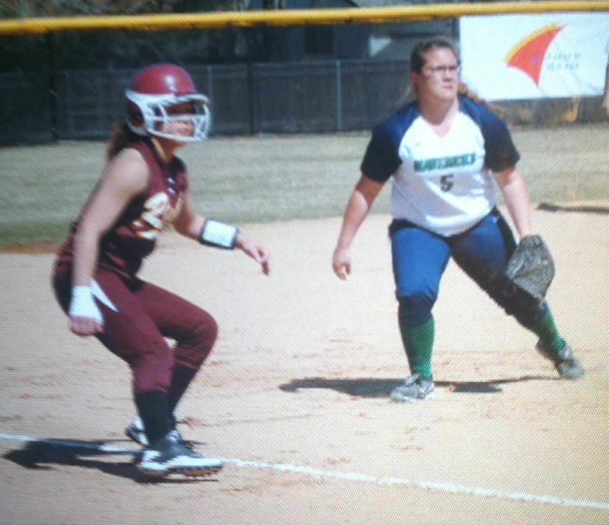 State softball my Freshman year