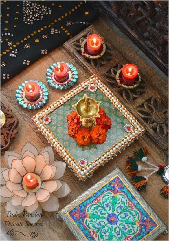 Top Diwali Dekor Ideen von den Besten im Geschäft #diwalidecorationsathome To ... Top Diwali ...