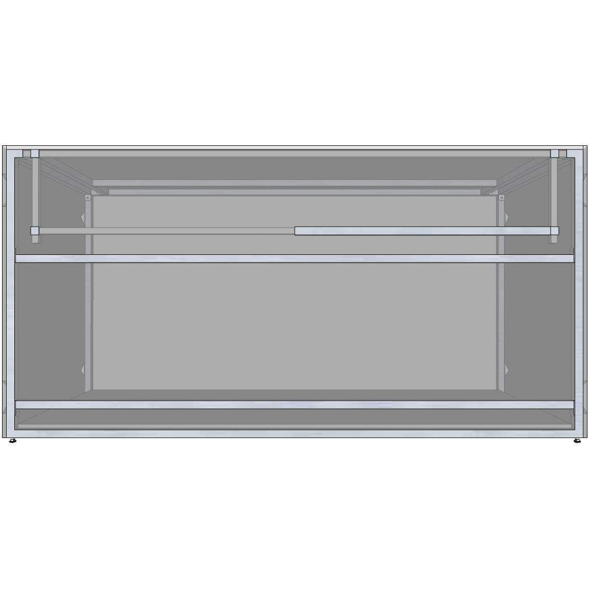 Universal 72-Inch Ready To Finish BBQ Island Appliance And ...
