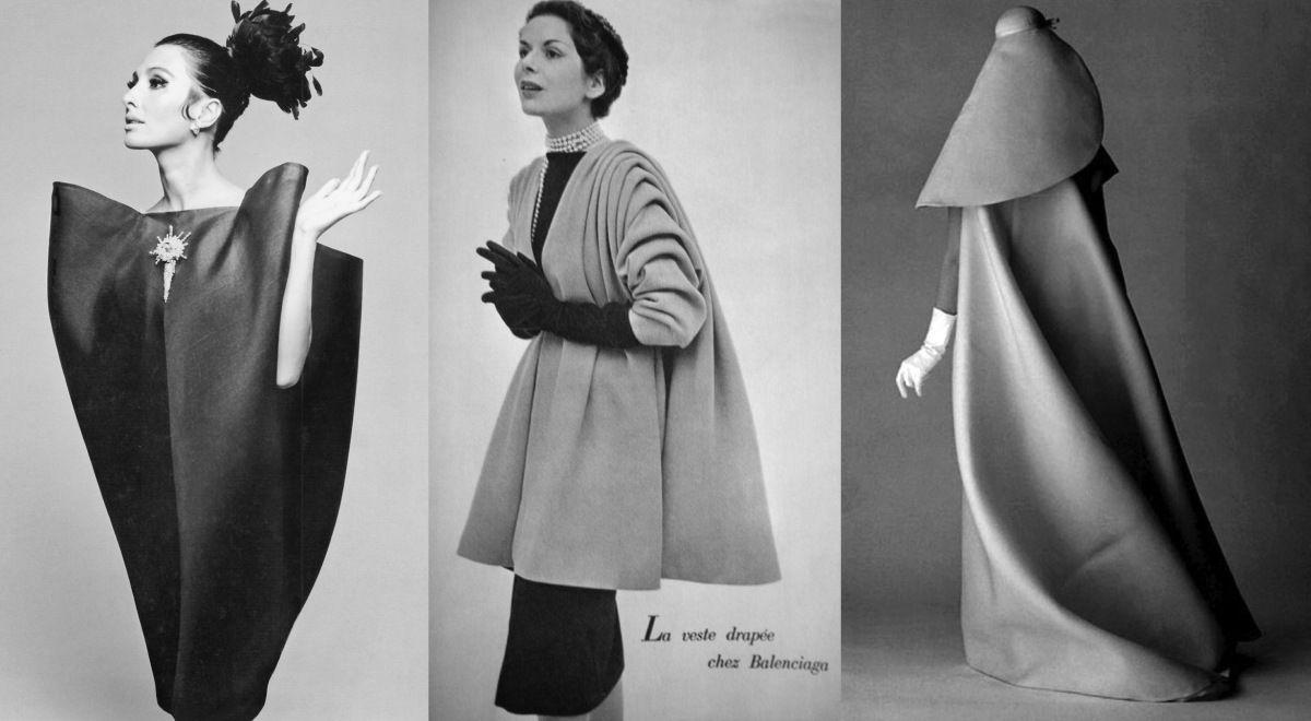 Balenciaga He High Waisted Baby Doll Dress 1957 Balenciaga