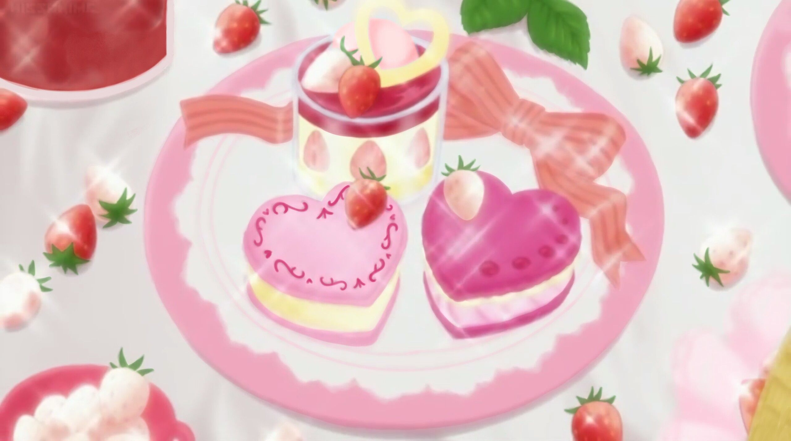 Pin by myst on anime dessert anime cake food