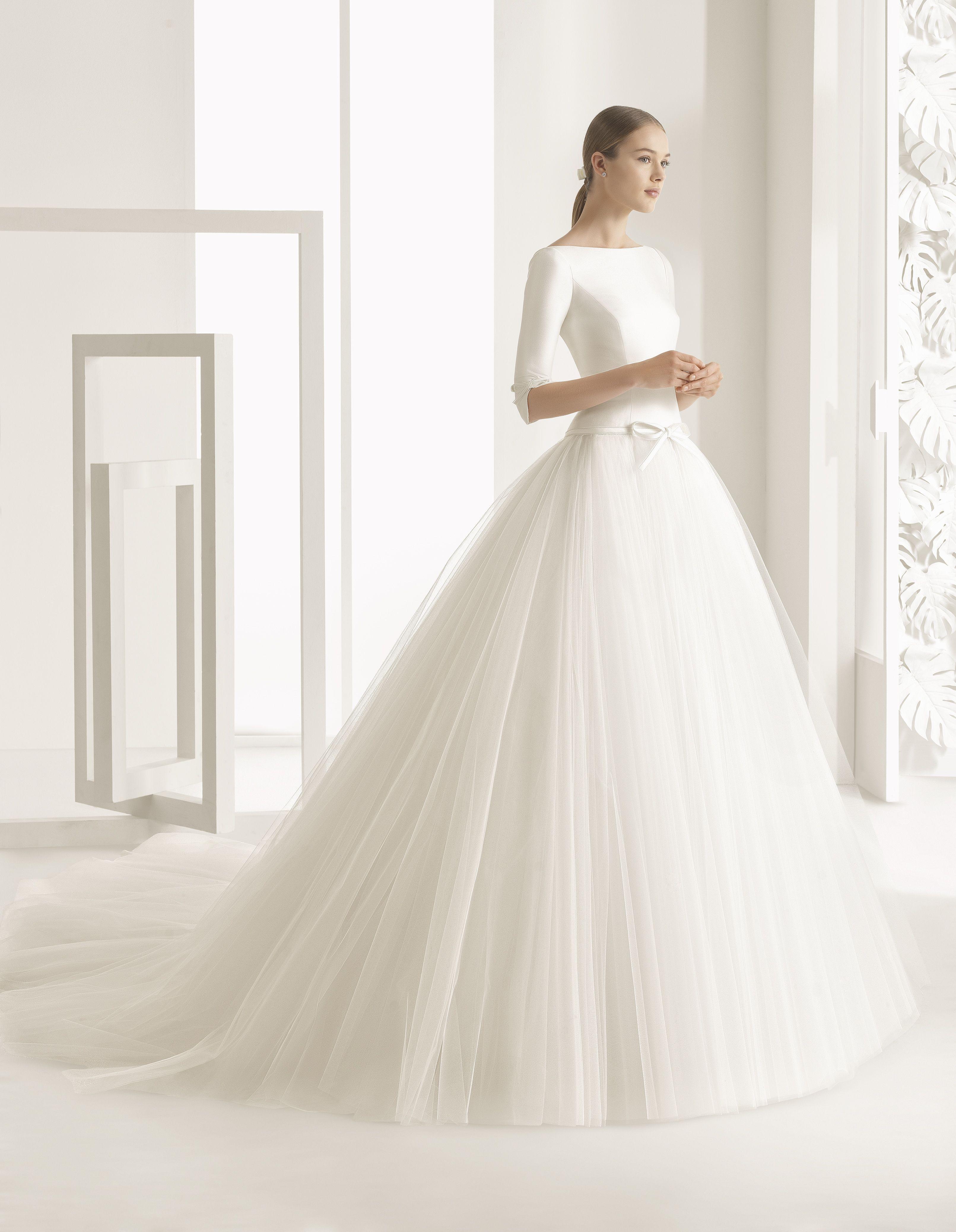 e739454d2f Vestido de Novia de Rosa Clará (NEKANE)