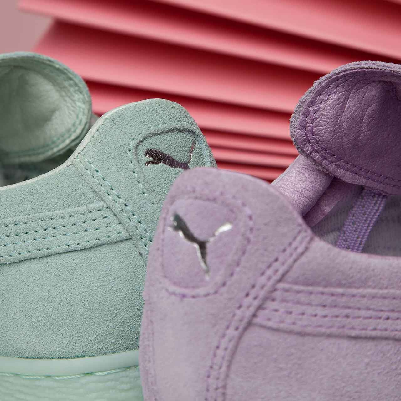 Choose your favourite? The Puma Womens Suede Classic Trainer