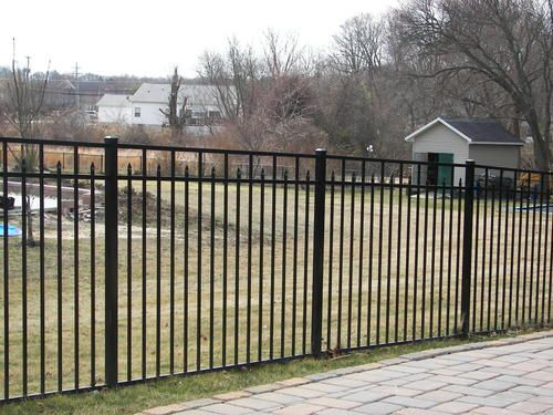 Best Ez Fence Columbia 60 X 70 3 Rail Aluminum Fence Panel At 400 x 300