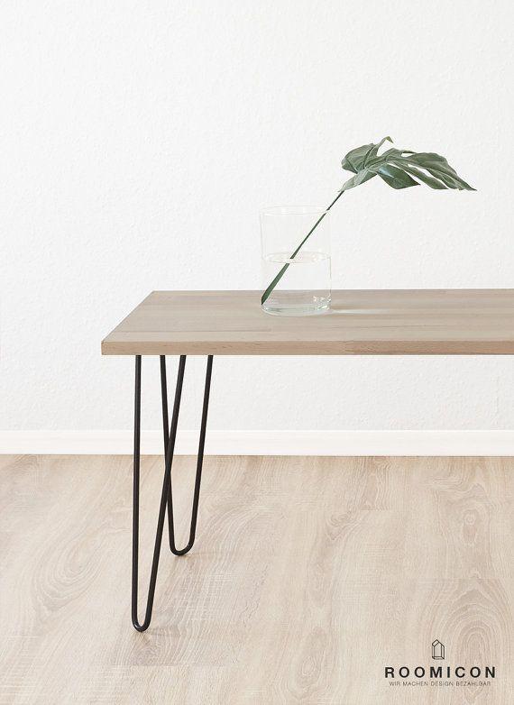 4x hairpin legs tischbeine 80 cm 315 inches haarnadelbeine. Black Bedroom Furniture Sets. Home Design Ideas