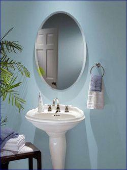 Medicine Cabinets Nutone Oval Frameless Bathroom Medicine Cabinet Mount Type Recessed Or Surface Mount By B Frameless Beveled Mirror Beveled Mirror Mirror
