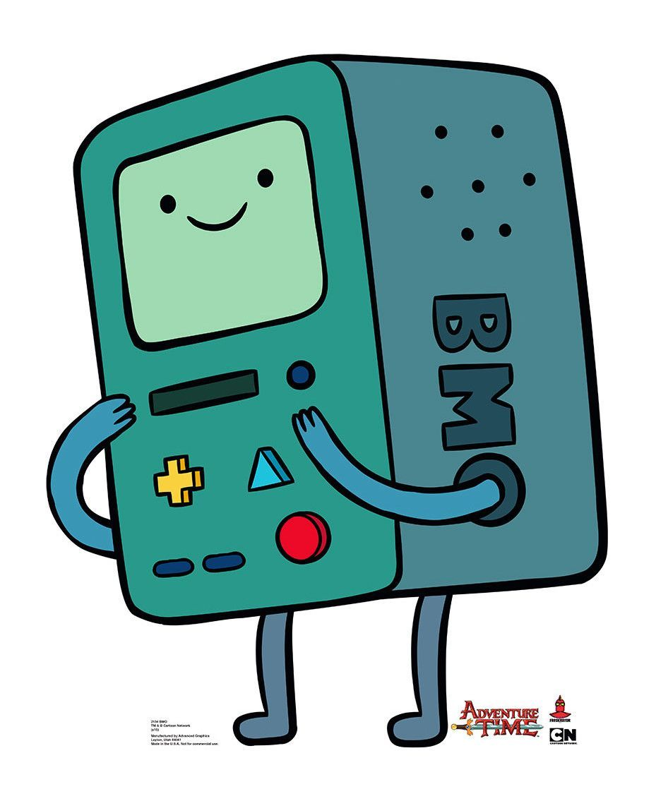 Bmo From Adventure Time Cartoon Network Life Size Cardboard Cutout Adventure Time Cartoon Adventure Time Tattoo Adventure Time Wallpaper