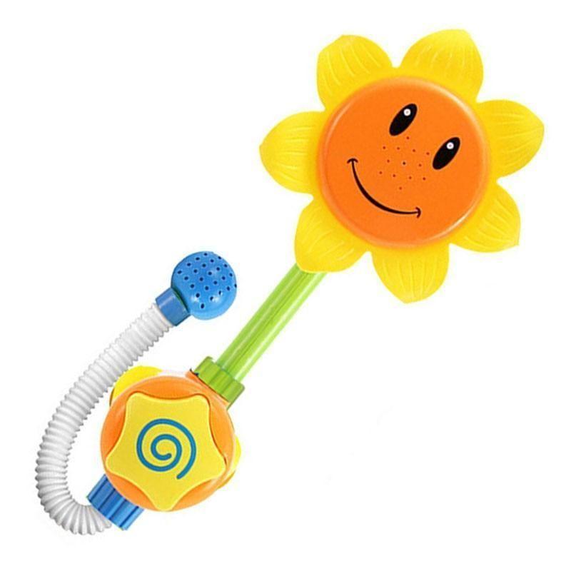 Cute Sunflower Bathroom Toy for Children Baby bath toys