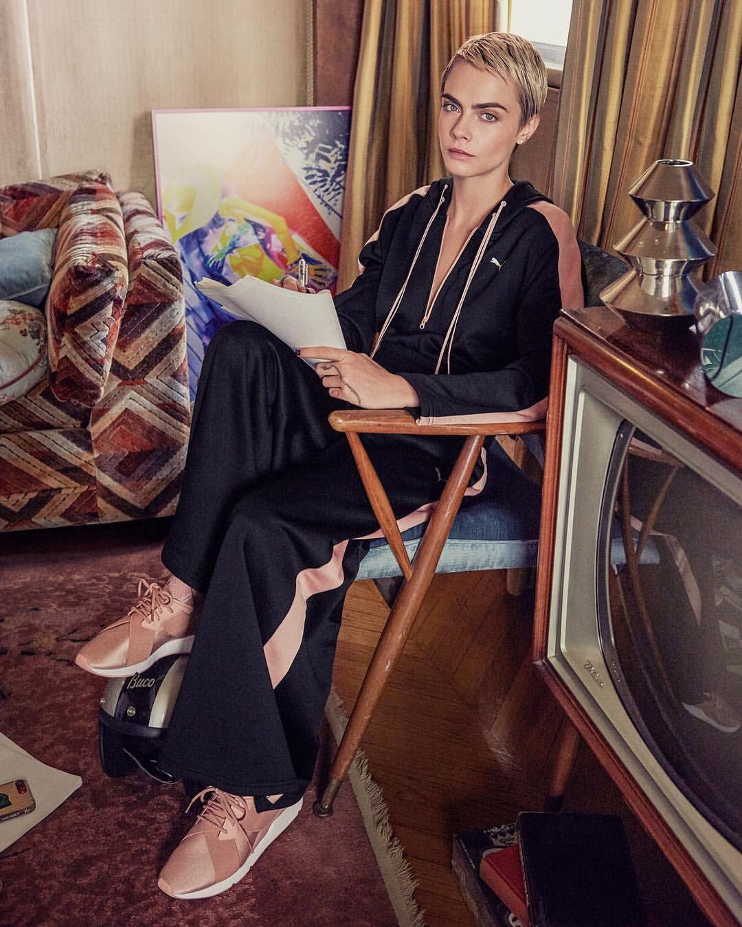 ce14f9be7fd Cara Delevingne for Puma 2018 Pinterest  jcolemadison