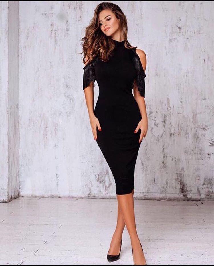 3c1287b69b97a Söz elbisesi :) | Elbise modelleri | Elbiseler, Siyah elbise, Elbise ...