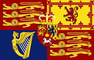Royal Standard Of The United Kingdom 1816 1837 Historical Flags British Flag Flag