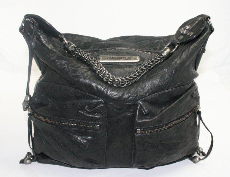 Thomas Wylde Black Leather Skull Portobello Hobo Bag Review Buy Now ... 6240c8dbf5c1a