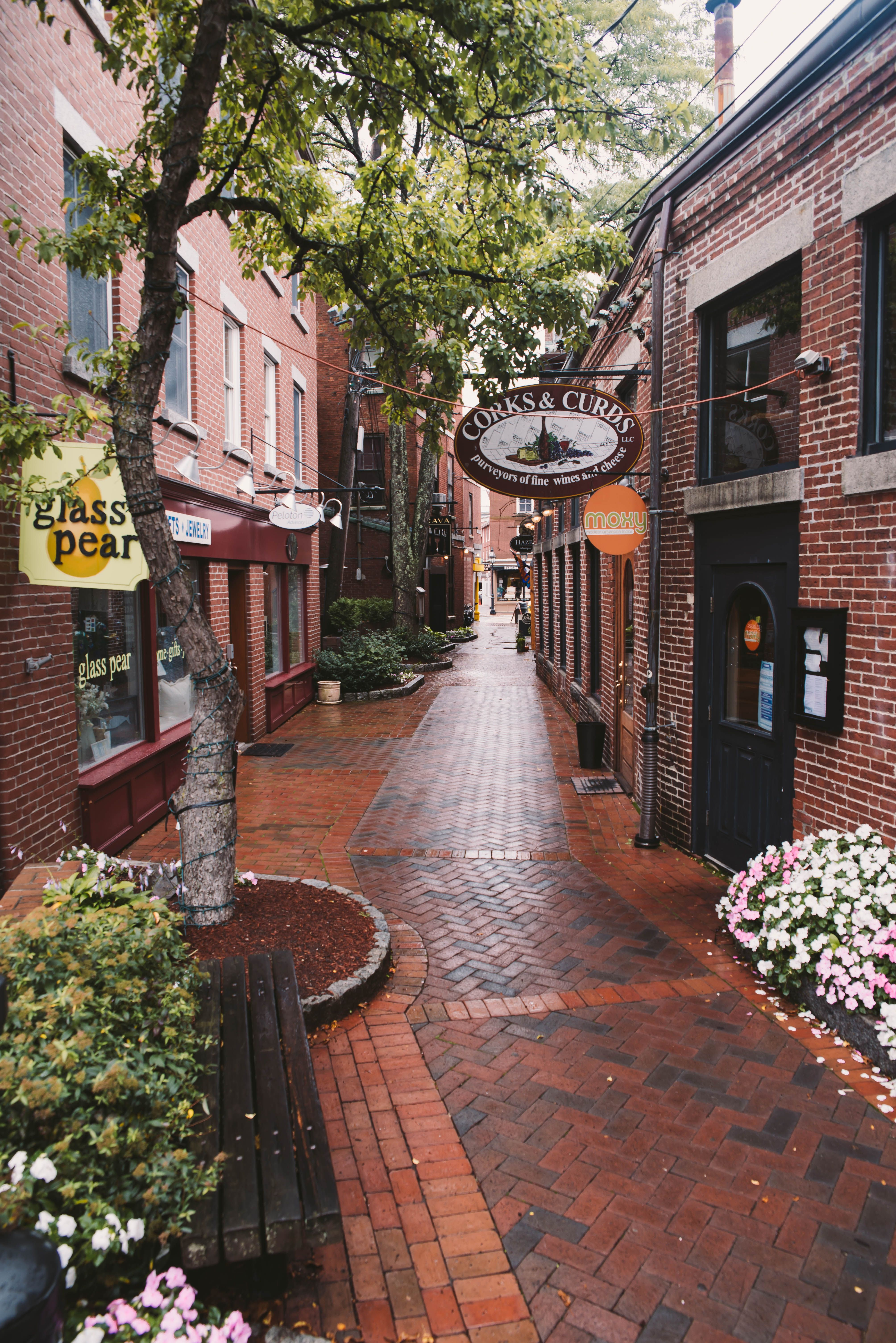 Commercial Alley Portsmouth New Hampshire Travel In