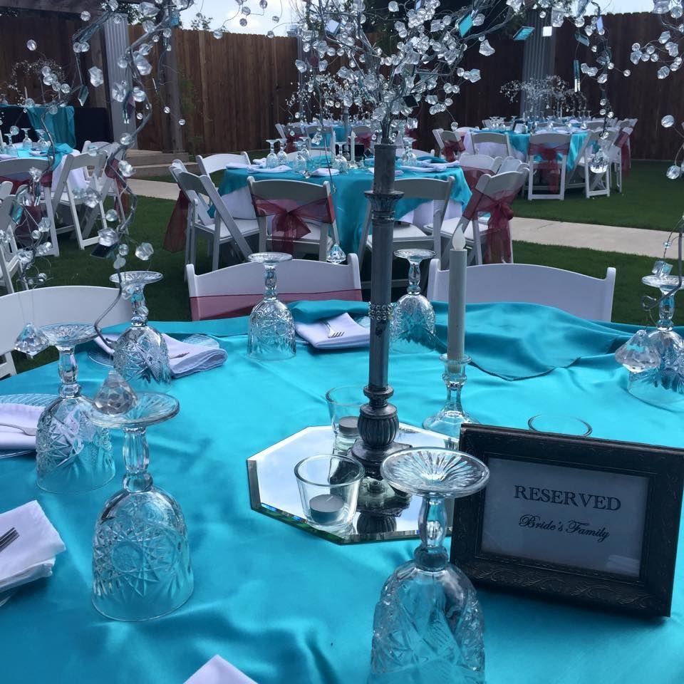 Lubbock Wedding Venue Table Decor