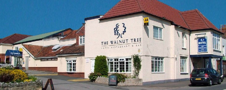 Walnut Tree Hotel And Restaurant In North Petherton Taunton