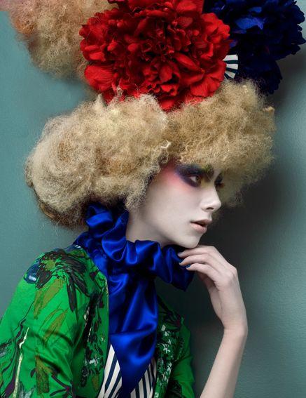 Spring Couture by Mario Ville (Kattaca) , via Behance