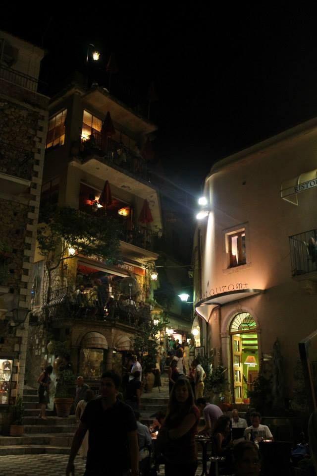 Castelmola by night.