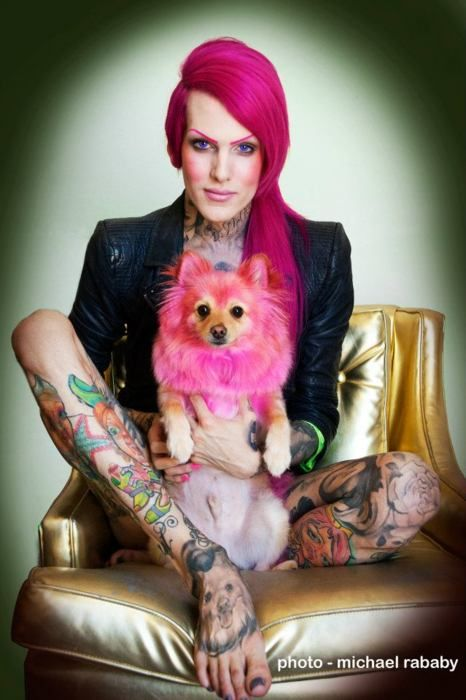 Pomeranian Tattoo Is This Absolutely Divine Or What Jeffree