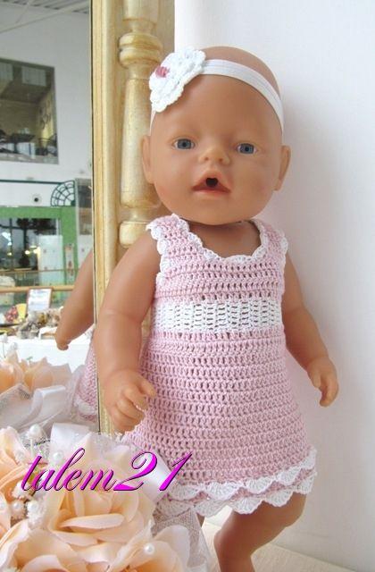 Pin von Renata Burikina auf Baby Born clothes | Pinterest ...
