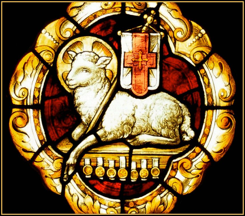The wedding feast of the lamb catholic the banner image for Tattoos catholic church
