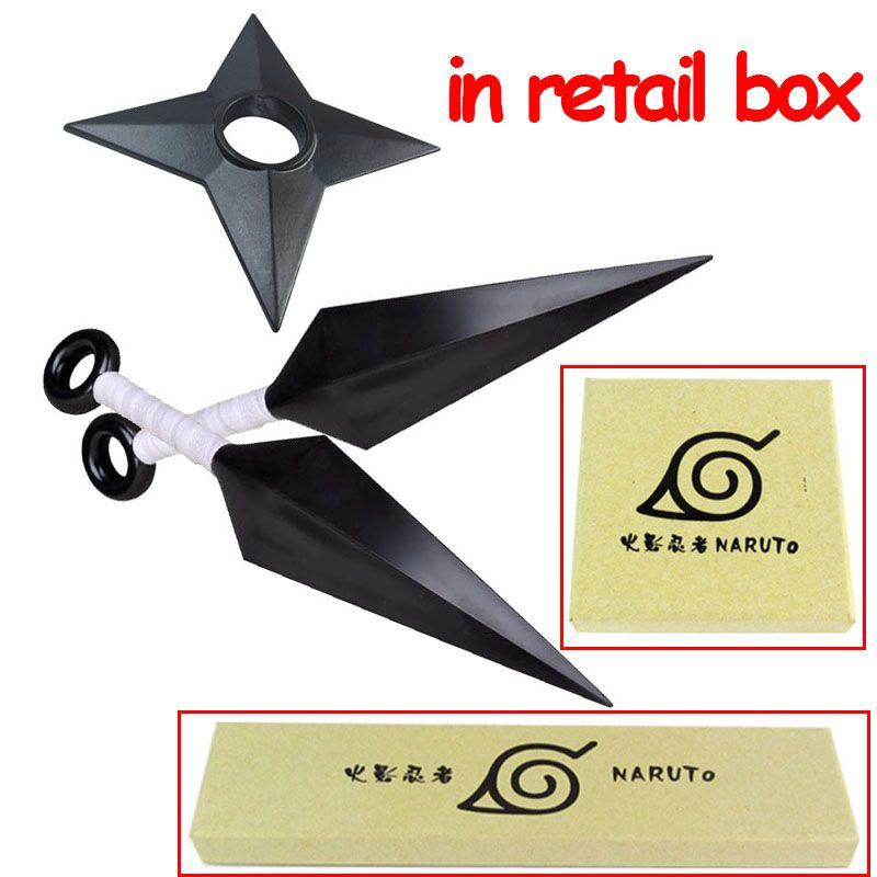 $9.34 (Buy here: https://alitems.com/g/1e8d114494ebda23ff8b16525dc3e8/?i=5&ulp=https%3A%2F%2Fwww.aliexpress.com%2Fitem%2FIn-Rerail-Box-1-1-Size-Naruto-Cosplay-Shuriken-Kunai-PVC-Ninja-Props-Weapon-Tool%2F32626951122.html ) 2pcs/set Naruto Kakashi Cosplay Shuriken Kunai Dart Dagger Figure Collectable Model Toys for just $9.34