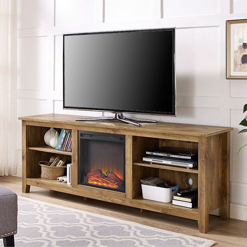 70 Inch Tv Stand Electric Fireplace