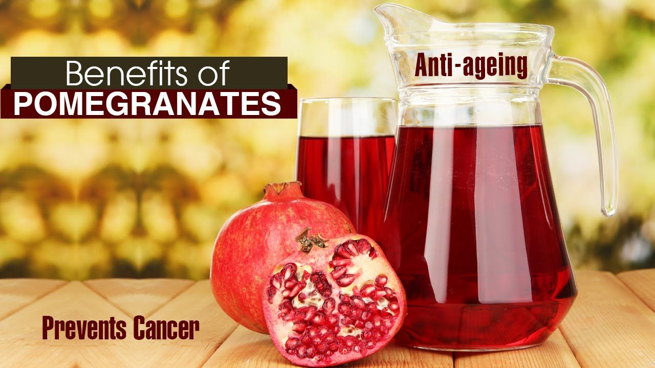 10 Amazing Health Benefits Of Pomegranate Anar Pomegranate