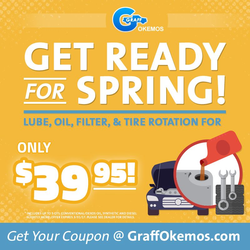 Get An Oil Change Filter Replacement Tire Rotation And Lube
