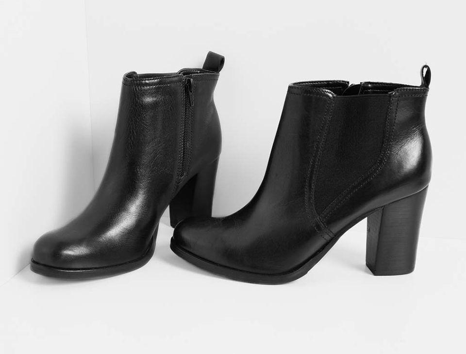 c8874a817f Chelsea Boots  para eles e para elas Botas De Couro Preto
