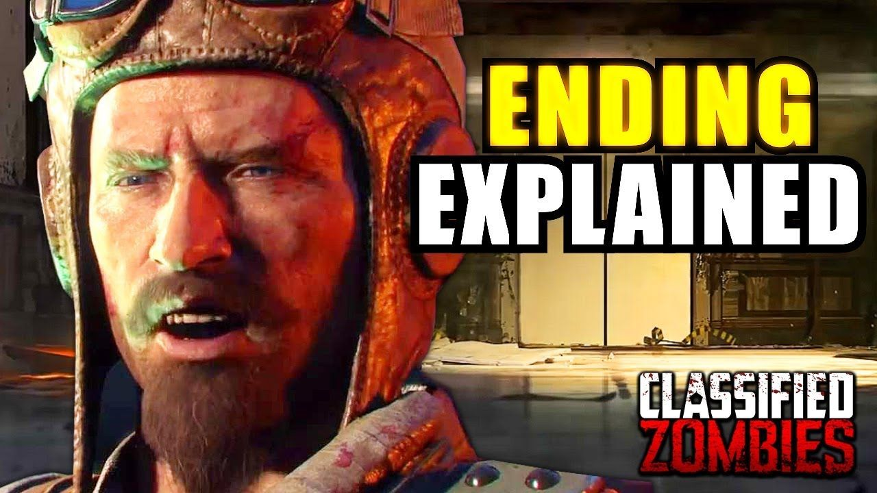 Classified Easter Egg Ending Audio (Explained) - Black Ops 4