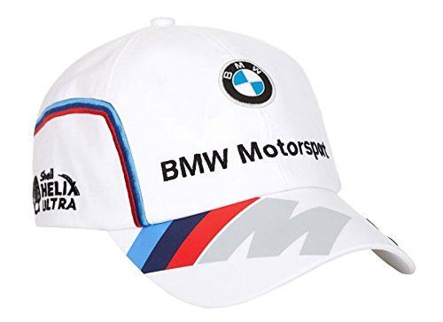 super popular 9f961 cab12 BMW Motorsports M-Power Men s White Team Hat with Puma Logo on Brim