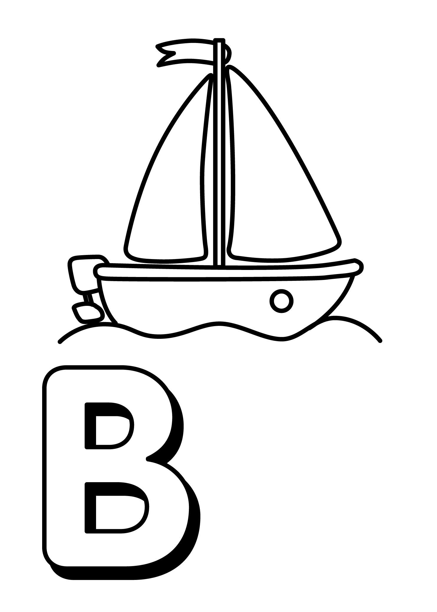 Trains Alphabet Is For Boat Coloring Pages For Kids Fb7 Printable Trains Alphabet Colorin Alphabet Coloring Pages Letter B Coloring Pages Abc Coloring Pages [ 2079 x 1483 Pixel ]