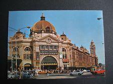 Flinders St Station  Holden Taxi Ford Ute VFL Finals Train Fares Melbourne Vic