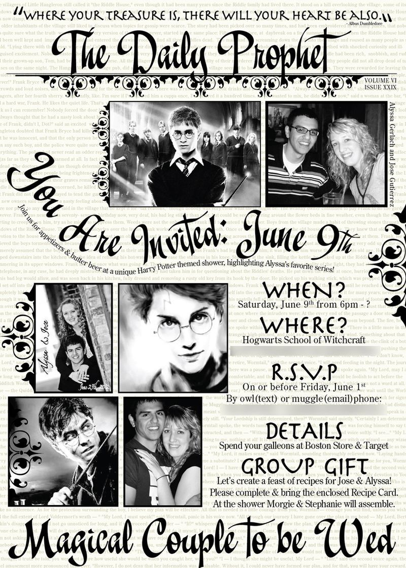 Pin by Kelsey Nicole on Harry Potter Themed Wedding Ideas ...